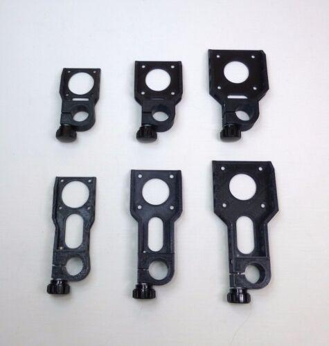 Short NEMA 14 stepper motor bracket for 15 mm rod .