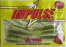 "Northland Tackle  IMPULSE® SMELT MINNOW - 3"" - Chartreuse Shad"
