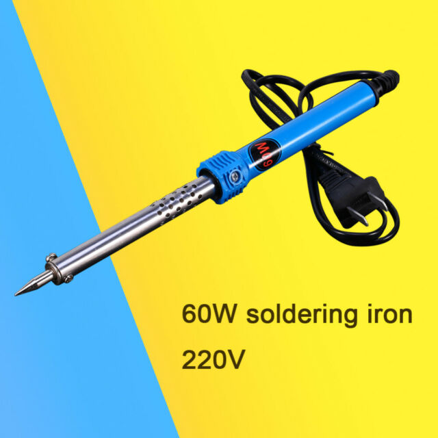 Electric Soldering Iron Gun Adjustable Temperature 60W Welding Tool Kit Set 220V