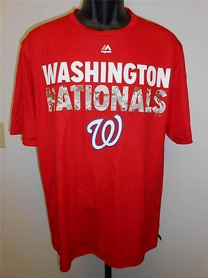 Weitere Ballsportarten Baseball & Softball Frank Neu Washington Nationals Herren L L T-shirt Majestätisch