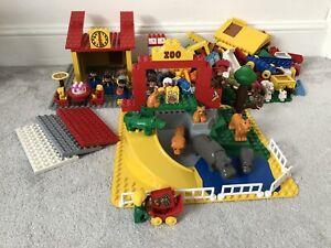 Huge-Duplo-Safari-Zoo-Animals-Bundle-With-Base-Plates-Figures-Accessories-Blocks