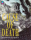 Cause of Death by Patricia Cornwell (Audio cassette, 1996)