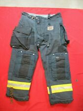 Mfg 2011 Morning Pride Fire Fighter Turnout Pants 40 X 31 Black Bunker Gear