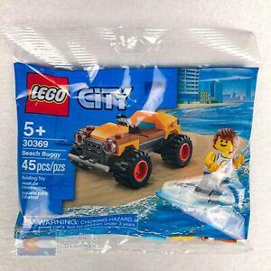Scellé et Neuf Lego City 30369 Beach Buggy surfeur-Polybag