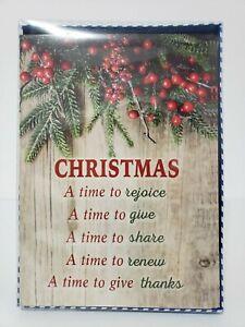 14-Christmas-Cards-and-Envelopes-New-Boxed-Navidad-Holidays-Greeting-Xmas