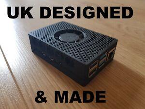 Raspberry-Pi-4-Pi4-Case-amp-Cooling-Kit-inc-Fan-amp-Heatsink-35-C-lower-temps