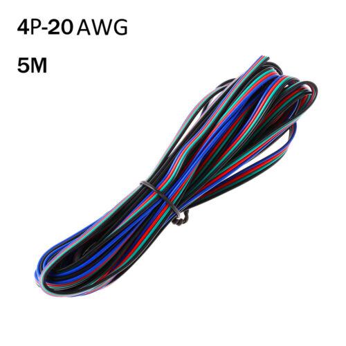 Strip 22AWG 20AWG 18AWG Kabel Kabel 4 Pins Verlängerungskabel Extension Wire