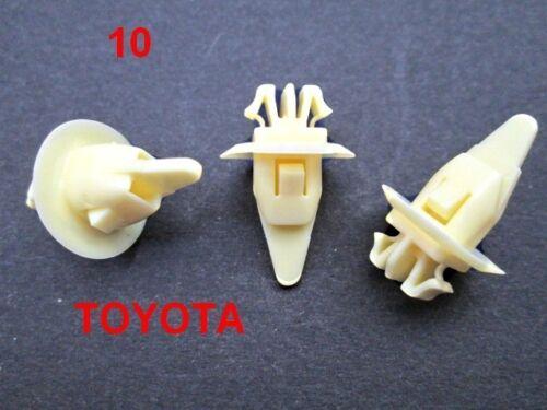 Toyota Land Cruiser 90 Fender Rueda FLARE moldeo Replacemen Clip de plástico TT49