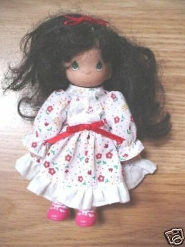 "6""APPLAUSE PRECIOUS MOMENTS GIRL PRIMATIVE RAG DOLL"
