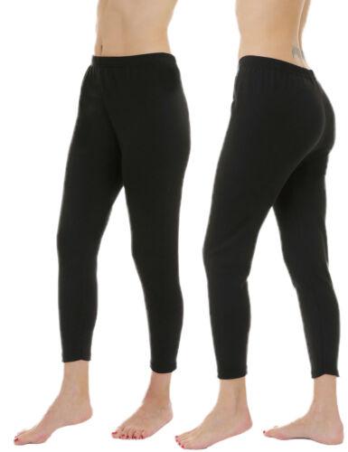 Damen Thermo Unterhose 2er Set Stretch Baumwolle Warm Weich Winter Leggings