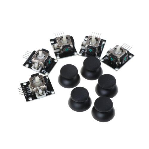 5Pcs//lot Dual-Axis XY JoyStick Module pour Arduino KY-02
