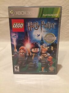 LEGO-Harry-Potter-Years-1-4-Microsoft-Xbox-360-2010-Complete-Tested