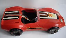 Barbie 1975 Dream Car Star Corvette Stingray in Rare Red Color Vintage Mattel