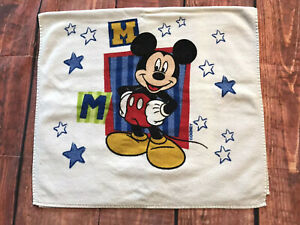 Vtg-Walt-Disney-Mickey-Mouse-Ninos-Bano-Playa-Toalla-Disneyland-Toy-Terry-Pano