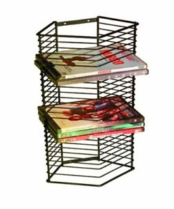 Image Is Loading DVD Tower Wall Mount Stand Steel CD Holder
