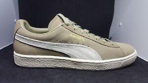 Puma Suede Classic Sneakers- Tan- Mens