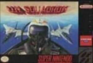 UN Squadron - Super Nintendo SNES Game Authentic