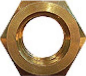 100-Sechskantmuttern-DIN-934-Messing-M-2-0-2-5-3-4-5