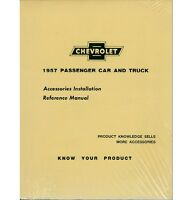 1957 Chevy Truck Accessory Installation Manual