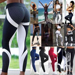 e8d687c717604 Sexy Women's Butt Lift Yoga Pants Hip Push Up Leggings Fitness ...