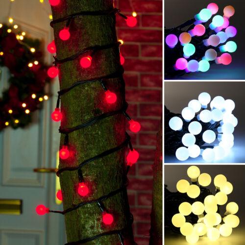24V Connectable LED Berry String LightsOutdoor Waterproof Christmas Garden