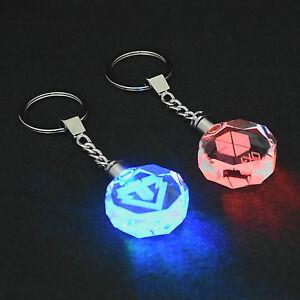 KPOP-EXO-Keychain-Baekhyun-Sehun-KAI-DO-Crystal-LED-Light-Key-Chain-Ring-Keyring