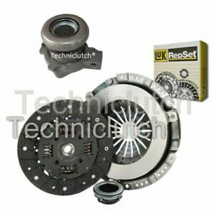 LUK 3 PART CLUTCH KIT AND CSC FOR OPEL ASTRA SALOON 2.0 16V