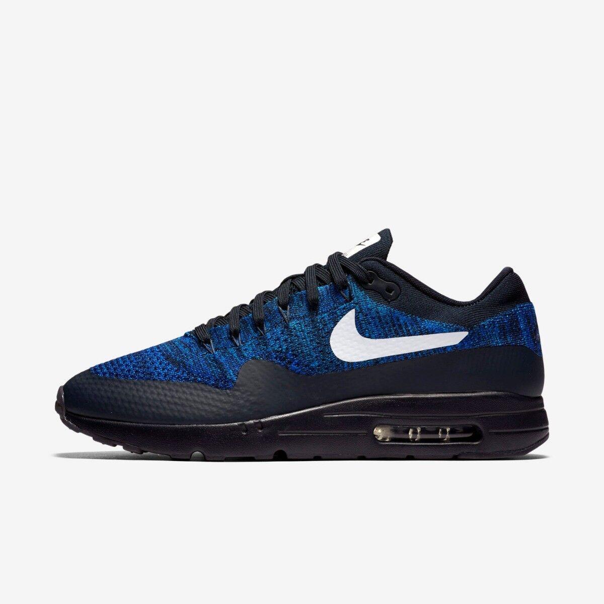 Nike Air Max 1 Ultra Flyknit women fault 5.5 blue black Run Nuevo