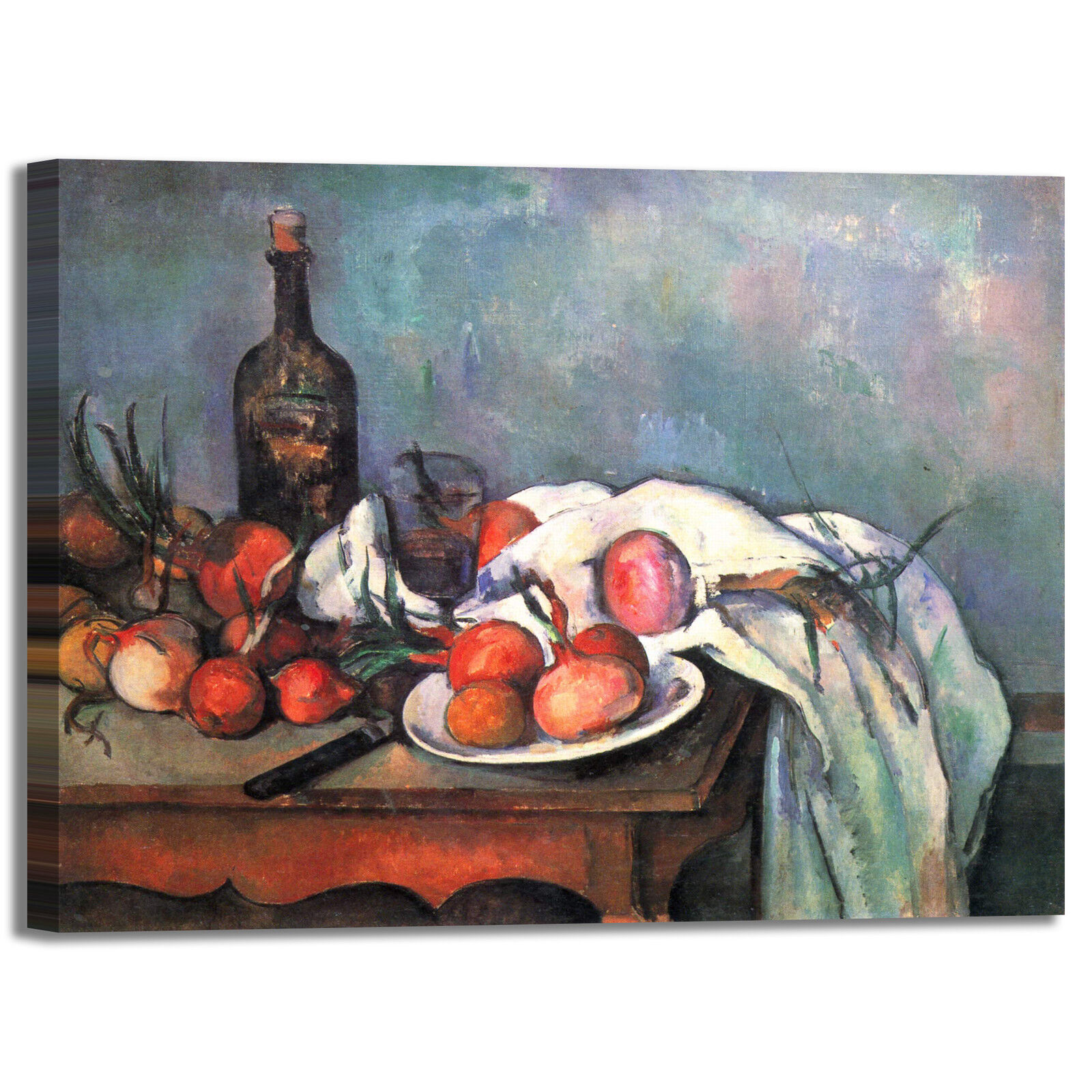 Cezanne natura morta 43 design quadro stampa tela dipinto con telaio arroto casa