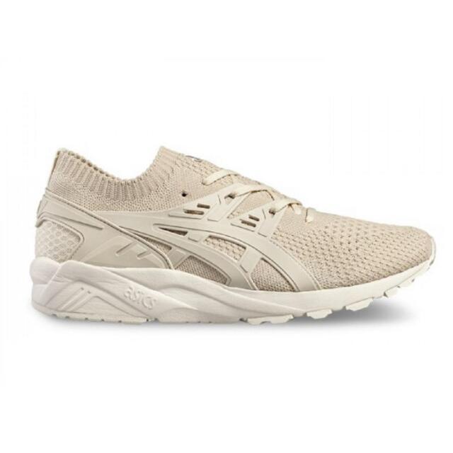 new product fcc96 5f940 ASICS GEL Kayano Trainer Knit Shoes Uk10 Beige Birch/birch