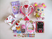 Doki doki precure Love Heart Arrow Lovely Commune Income Pad Harp Aichan Used