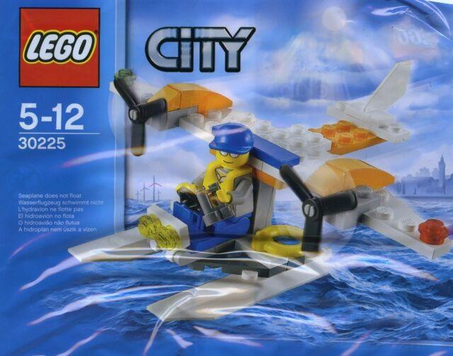 LEGO City Coast Guard Seaplane (#30225)(Polybag)(Retired 2013)(Very Rare)(New)