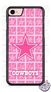 the latest cfb78 91d61 Details about NFL Dallas Cowboys Logo Pink Phone Case Cover Fits iPhone  Samsung Google LG etc