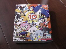 """Dreamcast DC - Sonic 10th Birthday Pack """"Sonic Adventure 2"""" - Japan Import"""