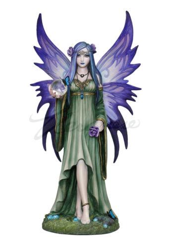 "9.25/"" Mystic Aura Fairy Statue Figure Gothic Fantasy Figurine Anne Stokes"