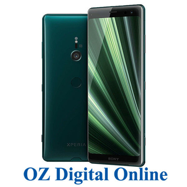 NEW Sony Xperia XZ3 Dual H9493 64GB Green 4G 19MP Unlocked Phone 1YrAuWty