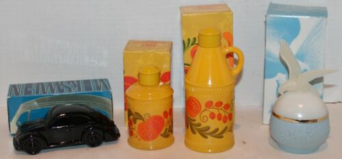 Choice Avon Vintage Bottle-Pennsylvania Dutch,Volkswagon ETC