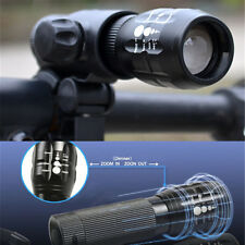 240 LM Q5 Mountain Bike LED Flashlight Mount Holder For Bicycle Bike Torch Clamp