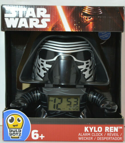 Star Wars kylo Ren SVEGLIA ALLARME-Clock