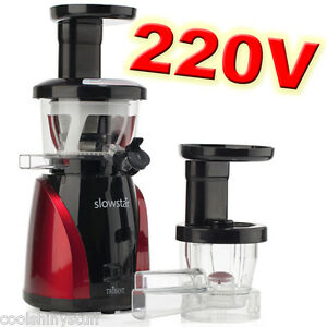 Tribest-SlowStar-220V-240V-Low-Speed-Vertical-Juicer-amp-Mincer-Slow-Star-SW-2000