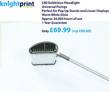 LED Floodlight - Lights - 20 watt mains exhibition stand light - pop up lighting