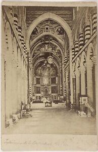 Cattedrale Da Pisa Italia Foto PL17c1n29 Cartolina Armadio Vintage Albumina