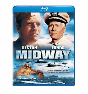 MIDWAY-Blu-ray-New-amp-Sealed-FREE-SHIPPING-WarMovie-Drama-WWII-Epic