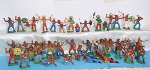 4-Vintage-rare-Collection-Rubber-Indians-52pcs-GDR-Germany-70-039-s