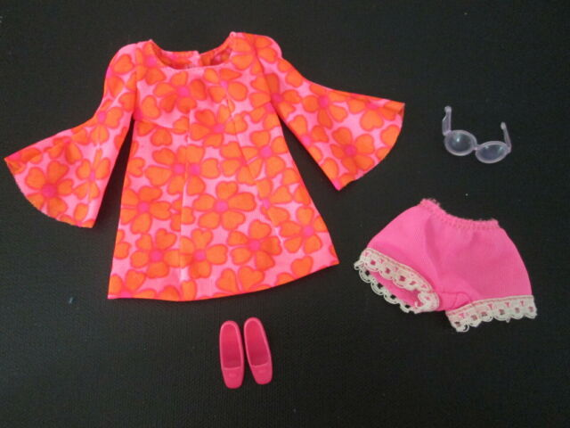 Vintage Barbie: 1113 Talking PJ Doll 1969-1970 ~ Complete Original Outfit