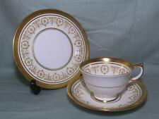 "Aynsley Gold Dowery Bone China Trio Tea Cup 5.5"" Saucer & Side Plate 7892"