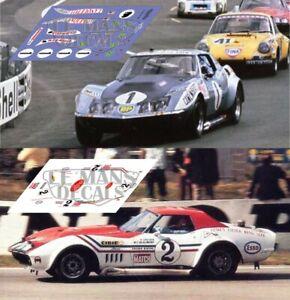 Calcas Corvette C3 L88 Le Mans 1971 1:32 1:43 1:24 1:18 Chevrolet Decals RafraîChissement