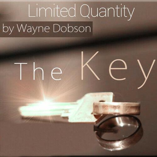 Silver,Close up Magic Tricks,Gimmick,Illusions,Street The Key by Wayne Dobson