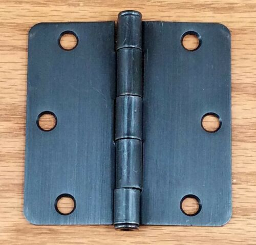 "Oil Rubbed Bronze 3.5/"" Inches with 1 Interior Butt Residential Door Hinges"