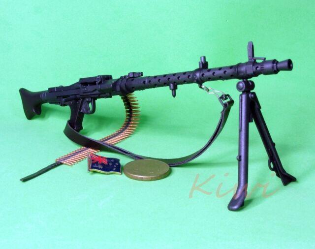 1:6 Scale Action Figure DRAGON WW2 GERMAN INFANTRY MG-34 MACHINE GUN MODEL MG34